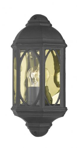 Tenby Wall Light Black (Class 2 Double Insulated) BXTEN2122-17